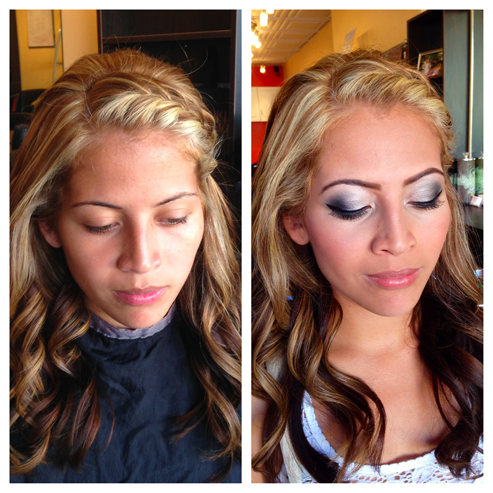 Airbrush Bridal Makeup Before And After : Airbrush Makeup Before And After Wedding www.galleryhip ...